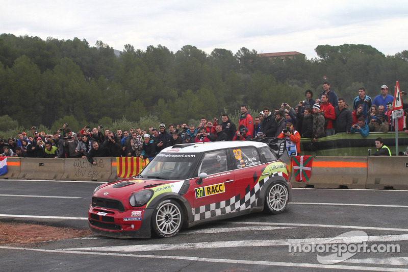 Mini finished 2012 with most stage wins in Spain