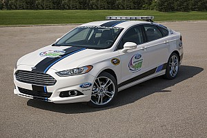 NASCAR Sprint Cup Breaking news New 2013 Ford Fusion Titanium to pace Homestead 400