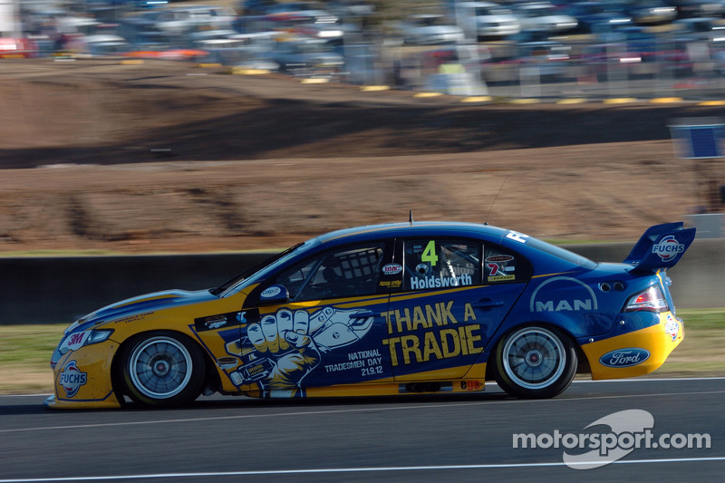 Holdsworth ready for country racing in Winton - V8 style