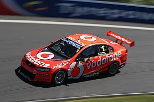 V8 Supercars Practice report Whincup quickest in Friday practice at Winton Motor Raceway
