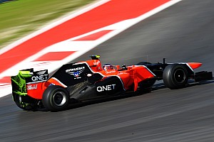 Formula 1 Practice report Marussia makes familiarisation runs on Friday at US Grand Prix