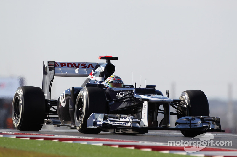 Williams finished as started in Austin, ninth and tenth