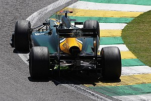 Caterham does not reach Q2 on qualifying at Interlagos