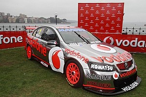 Special livery to mark in Sydney the end of a great era in motorsport: TeamVodafone
