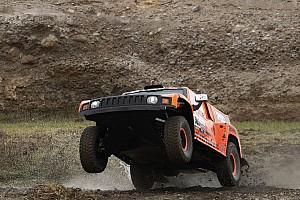Dakar Breaking news Robby Gordon, Hummer and Toyo ready for the 2013 challenge starting in Argentina