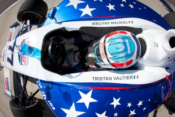 Indy Lights Champion Vautier to test SSM IndyCar at Sebring