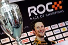 Was Grosjean's contract renewed by Lotus due to ROC victory?