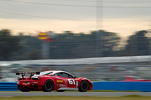 Grand-Am Testing report AIM Autosport teams FXDD and R.Ferri wrap up Daytona 24H testing