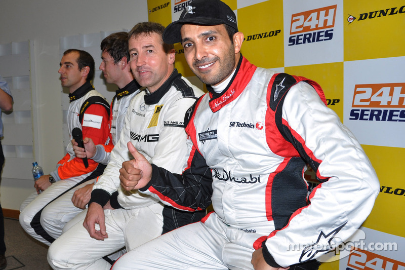 Team Abu Dhabi claim pole for Dunlop 24 Hours of Dubai