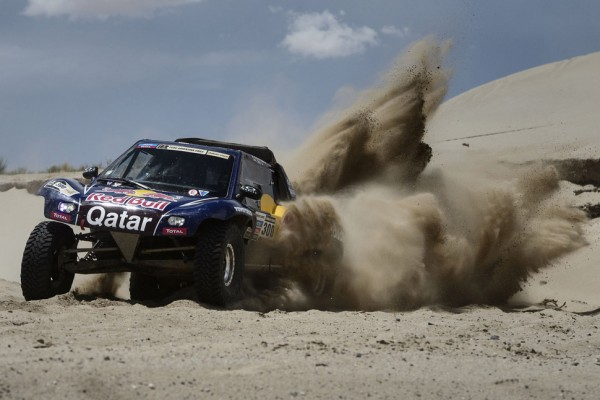 Nasser Al-Attiyah keeps his head above water