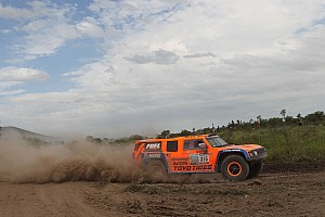 Dakar Stage report Gordon places Hummer on fourth on stage 9