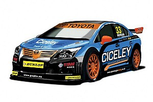 BTCC Breaking news Morgan unveils new 2013 Toyota Avensis challenger