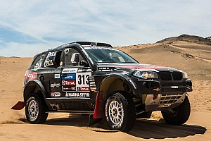 Dakar Stage report Terranova takes his BMW X3 CC to third position in stage 13