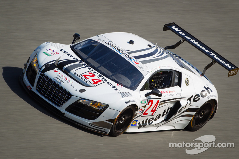 Dion von Moltke teamed with Audi factory stars for Daytona 24H