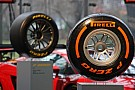 The new Pirelli Formula 1 tyres for 2013 - video