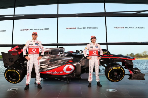 McLaren launches the new MP4-28 in style