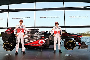 Formula 1 Breaking news McLaren launches the new MP4-28 in style