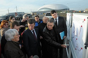 Formula 1 Breaking news Ecclestone overwhelmed with progress on Sochi circuit