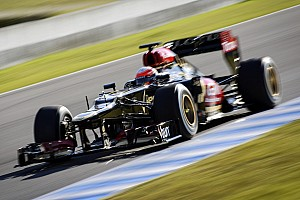 Formula 1 Testing report Lotus F1's Grosjean fastest in day 2's testing at Jerez