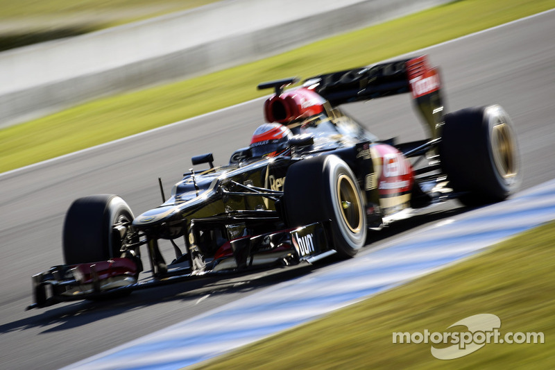 Lotus F1's Grosjean fastest in day 2's testing at Jerez