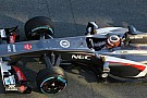 Hulkenberg's feet too big for new Sauber 