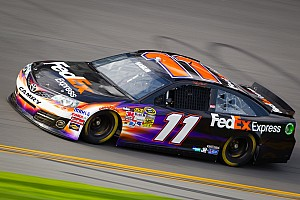 NASCAR Sprint Cup Qualifying report Hamlin fastest Toyota in Daytona 500 qualifying