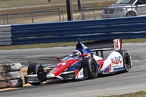 A.J. Foyt's Sato quickest in testing at Sebring