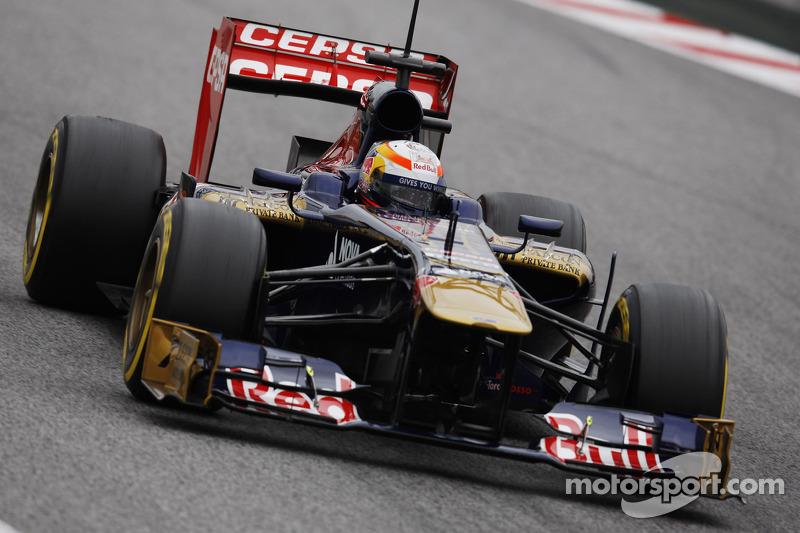 Bad weather does not prevent productive day for Toro Rosso