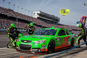 NASCAR Sprint Cup Race report Patrick finishes eighth in the Daytona 500