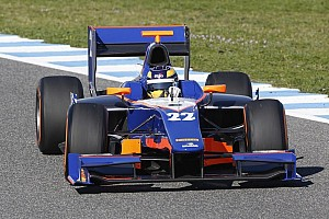 GP2 Testing report Tom Dillmann tops day 1 in Jerez testing