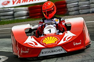 Alguersuari, Schumacher to race karts