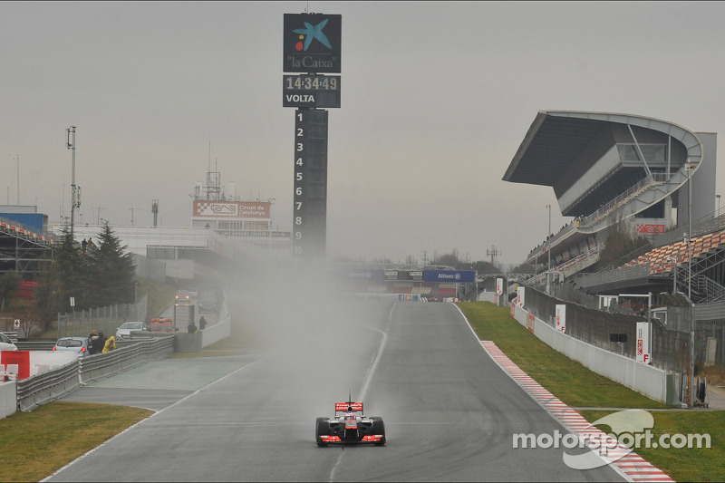 McLaren's programme was efficient and productive on Barcelona day two