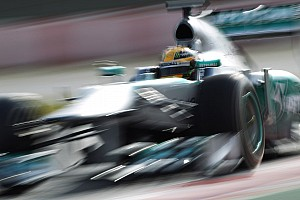 Again: Mercedes is the fastest car in Barcelona