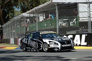 Supercars Race report Nissan Motorsport off to a promising start at the Clipsal 500