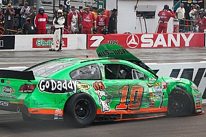NASCAR Sprint Cup Race report Tire problem ends Patrick's day early at Phoenix