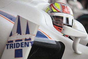 GP2 Testing report Trident Racing concluded preseason test in Barcelona