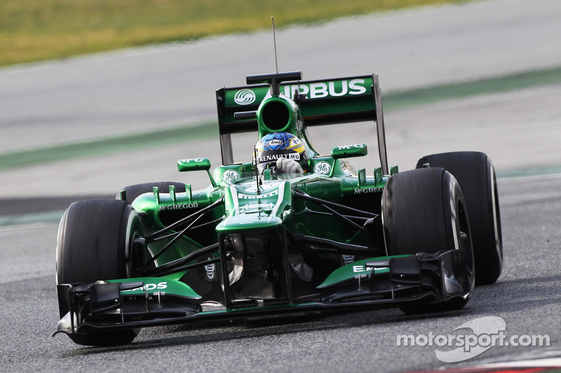 Caterham starts its 4th season in Australia with novelties