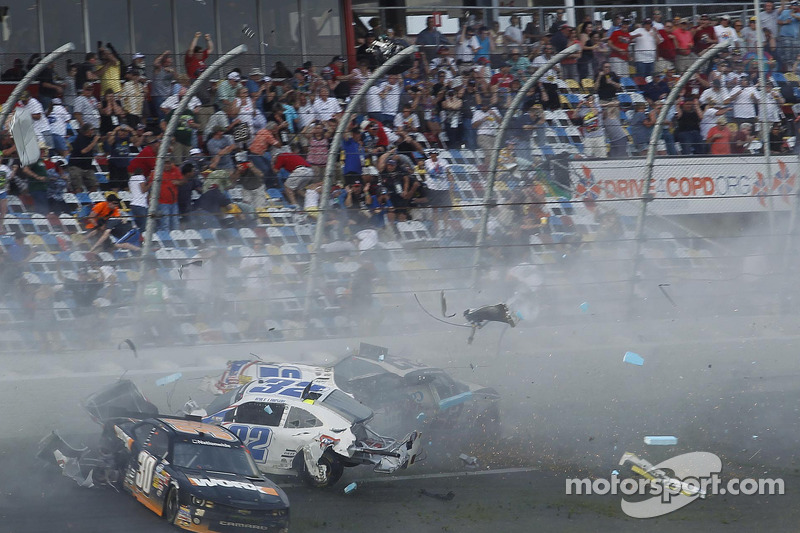 Lawsuits were expected after the final lap crash in Daytona's NNS race