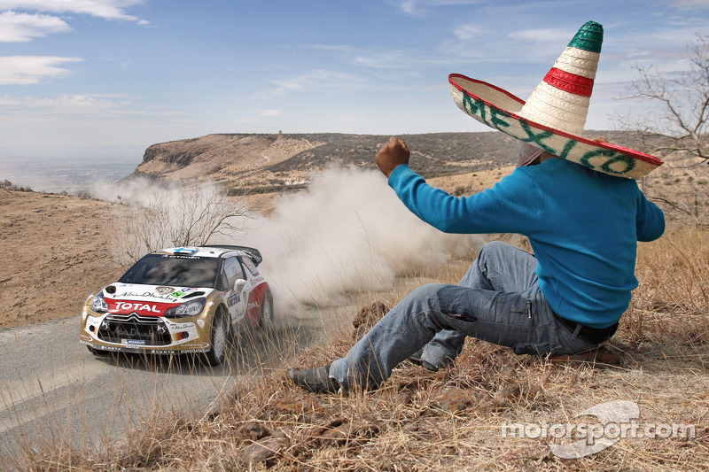 Hirvonen secures podium spot on Rally Mexico