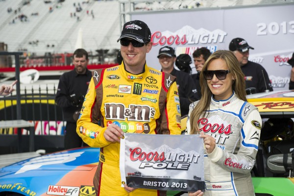 Bristol pole puts Kyle Busch in unfamiliar territory