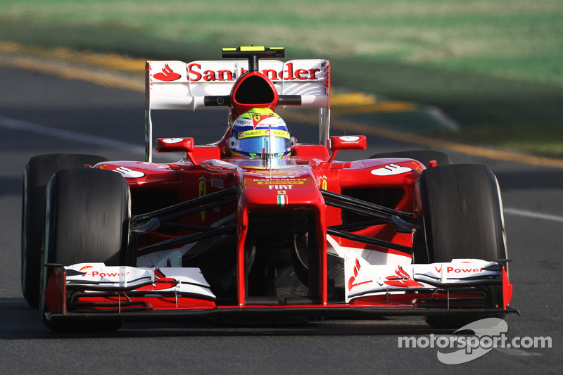 Second and third rows for Scuderia Ferrari in Melbourne
