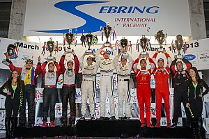 ALMS Race report Alex Job Racing with Porsche wins GTC at Sebring