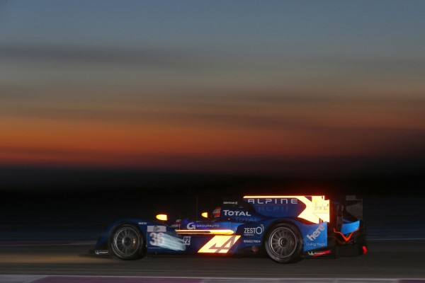 Signatech Alpine Nissan on top in Le Castellet testing at Paul Ricard circuit