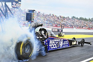 NHRA Qualifying report Brown, Hight and Edwards lead Friday night qualifying in Las Vegas