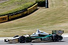 Carpenter fights changing track surface in practice at Barber