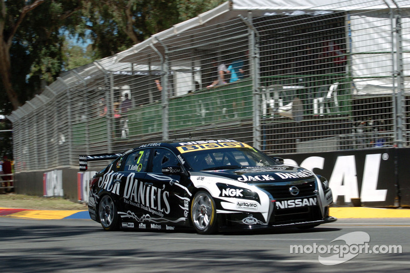 Nissan Motorsport moves forward on Saturday race at Symmons Plains