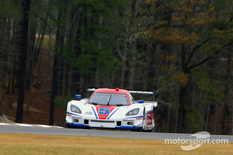 Two Corvette DP from Action Express Racing finished 9th and 11th at Barber