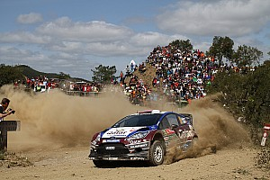 WRC Leg report Bad luck strikes Qatar M-Sport on day two in Portugal
