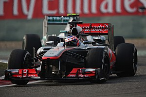 Button happy with McLaren improvement in China