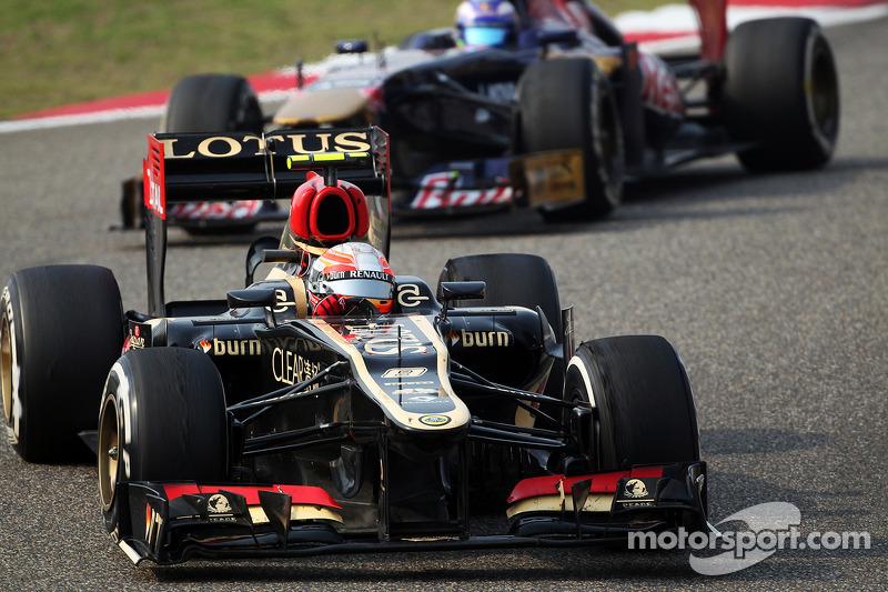 Boullier plays down Grosjean's troubles